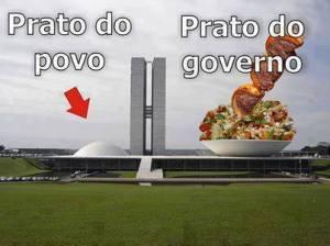 prato do governo e do povinho